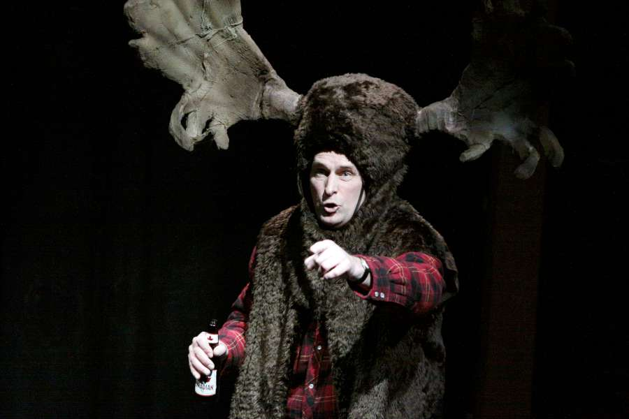 Moose photo from previous production